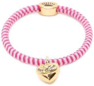 Juicy Couture Heart Charm Hair Elastic