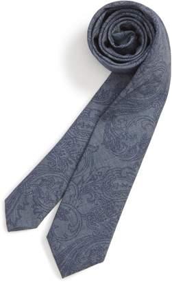 Nordstrom Paisley Cotton Blend Tie