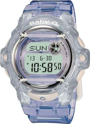 Baby-G Baby G Ladies' Lilac LCD Watch