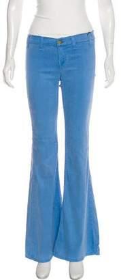 Elizabeth and James Low-Rise Flare-Leg Jeans