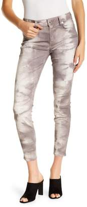 Genetic Los Angeles Elle Tie-Dye Print Skinny Jeans