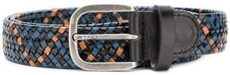 Etro colour-block woven belt