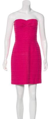 Trina Turk Strapless Knit Dress