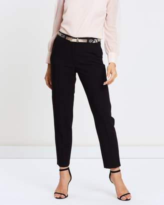Wallis Snake Belt Botany Trousers