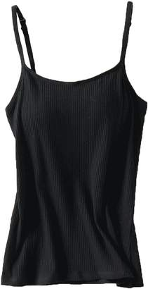 54c192a23fd02 Foxexy Women s Modal Built-in Bra Padded Active Strap Camisole Tanks Tops  Grey