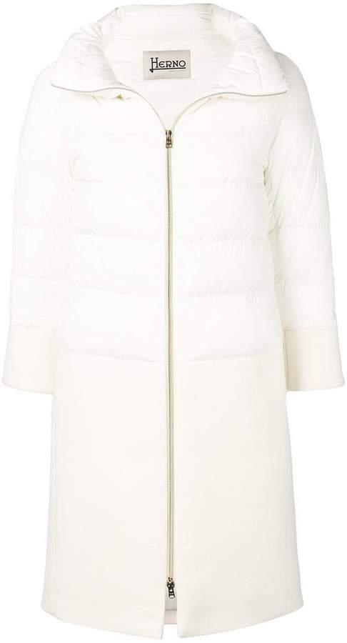 mid-length padded coat