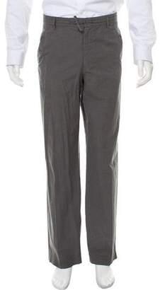 Prada Woven Casual Pants