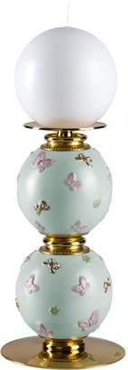 Villari Porcelain Butterfly Candle Holder