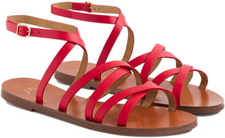 J.Crew Gianna Leather Sandal