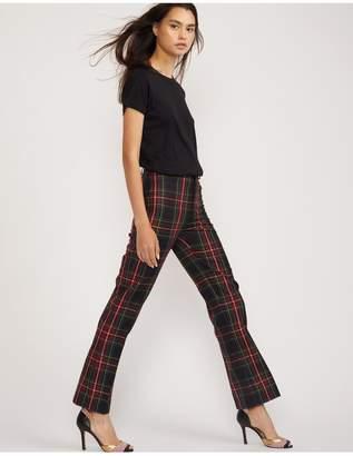 Cynthia Rowley Astor Plaid Wool Pant