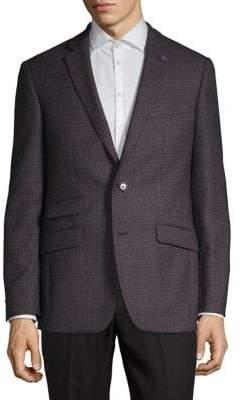 Ted Baker No Ordinary Joe Notch Lapel Wool Blazer