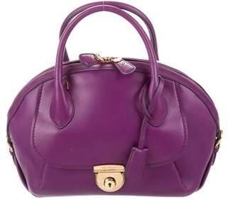 Salvatore Ferragamo Leather Fiamma Bag