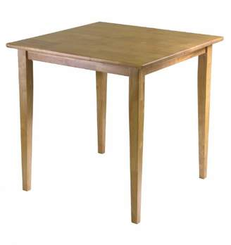 Winsome Wood Groveland Square Dining Table with Shaker legs