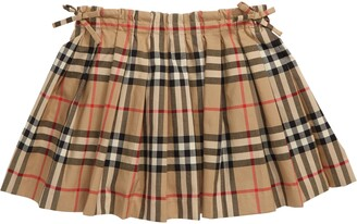 Burberry Pearly Check Skirt