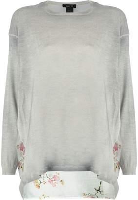 Avant Toi printed back sweater