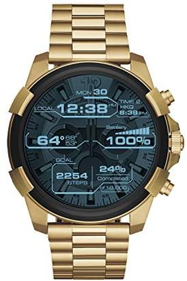 Diesel Mens ON Full Guard Touchscreen Smartwatch Stainless Steel