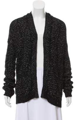 Theyskens' Theory Open-Front Knit Cardigan