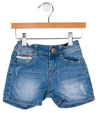 Catimini Girls' Denim Shorts