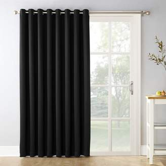 "Sun Zero 100""x84"" Kenneth Extra Wide Blackout Window Curtain Panel"