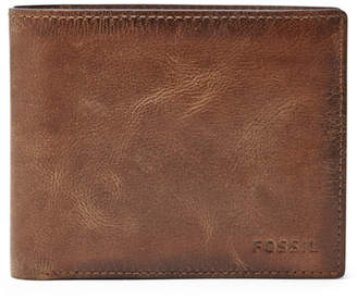 Fossil Derrick RFID Large Coin Pocket Bifold