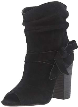 Nine West Women's Ronia Suede Ankle Bootie