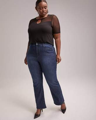 Curvy Fit Bootcut Jean with Side Embellishment - d/C JEANS