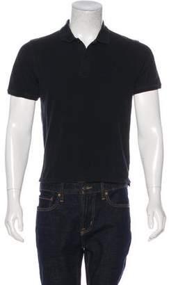 Saturdays New York City Woven Polo Shirt