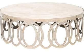Marble & Chrome Coffee Table