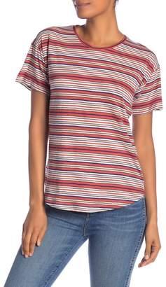 Madewell Bonnie Whisper Striped Crew Neck Tee
