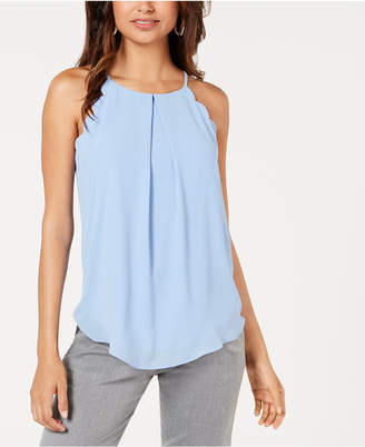 BCX Juniors' Scalloped Tank Top