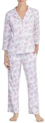 Eileen West Long Floral PJ Set