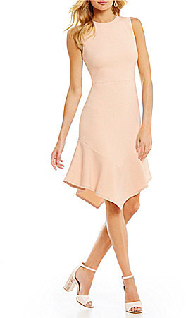 DKNY DKNY Flounce-Hem Dress