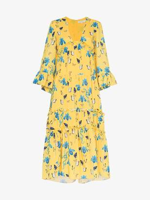 DAY Birger et Mikkelsen Borgo De Nor iris floral print dress