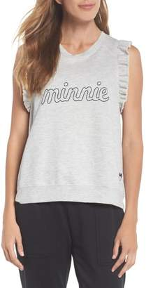 David Lerner Minnie Ruffle Tank