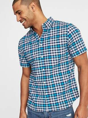 Old Navy Slim-Fit Built-In Flex Oxford Shirt for Men