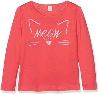 Esprit Girl's Ls T-Shirt,(Manufacturer Size: 128+)