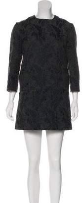 Marni Jacquard Mini Dress