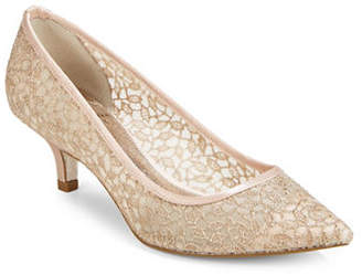Adrianna Papell Lois Lace Point Toe Pumps