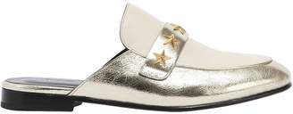 10mm Star Girl Studded Metallic Mules