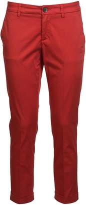 Fay Cropped Skinny Trousers