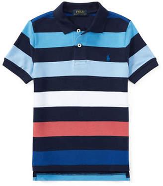 Ralph Lauren Stripe Cotton Polo Shirt