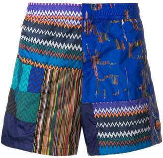 Missoni Mare pattern print swim shorts