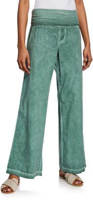 XCVI Lucilla High-Waist Wide-Leg Pants