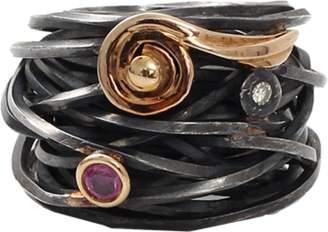 BOAZ KASHI Tourmaline Wire Wrap Ring