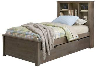 Hillsdale Furniture Highlands Bookcase Bed with Trundle