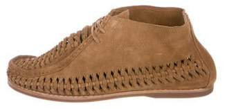 Frye Moccasin Ankle Boots