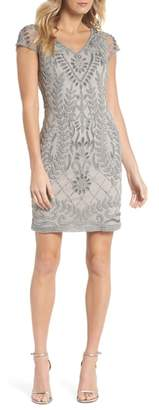 Pisarro Nights Beaded Sheath Dress