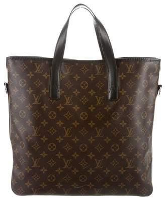 Louis Vuitton Monogram Macassar Kitan Bag