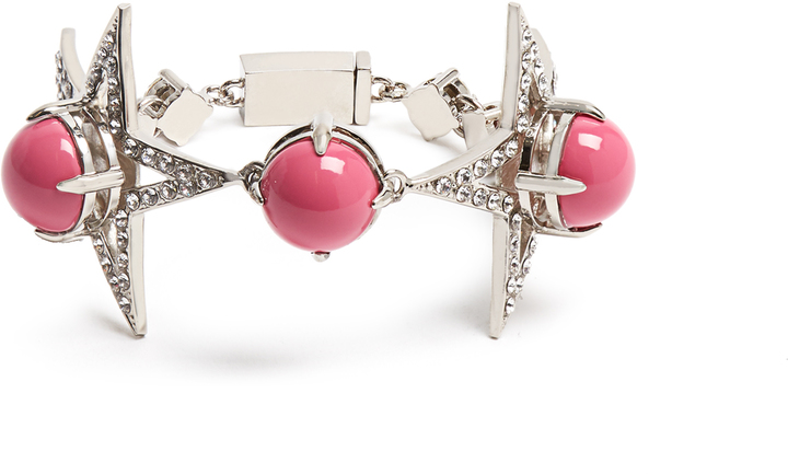 Miu Miu MIU MIU Star bead and crystal-embellished bracelet