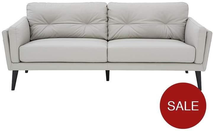 Enzo 3 Seater Premium Leather Sofa